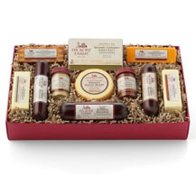 Hickory Farms Party Planner Gift Box