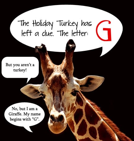 Holiday Turkey Hunt Letter