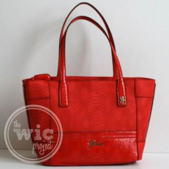 Guess CONFESSION Red Carryall