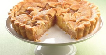 Ginger Spice Apple Tart Recipe