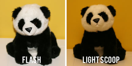 Lightscoop Comparison - Flash