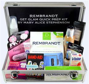 REMBRANDT Get Glam Quick Prep Kit