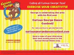 Curious George Dance Contest