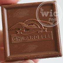 Milk & Truffle Ghirardelli Squares