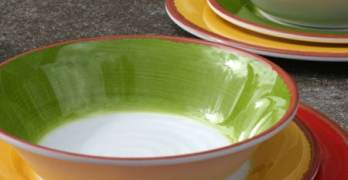 Set the Summer Tables with A Melamine Dinnerware Set from BJ's – Review