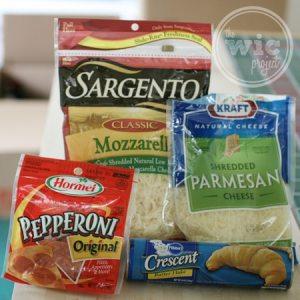 Crescent Pizza Pocket Ingredients