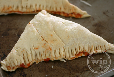Crescent Pizza Pocket Sealed