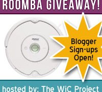 BLOGGER SIGN-UPS! Roomba Group Giveaway