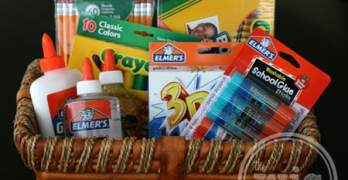 Supporting Back to School with Elmer's #BagItForward #Champions4Kids