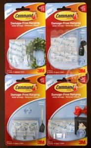 Command Brand Clear Hooks