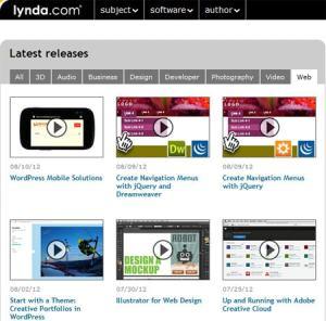 lynda.com online video training