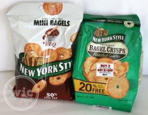 New York Style Bagel Crisps