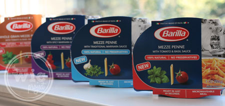 Barilla Microwaveable Meals