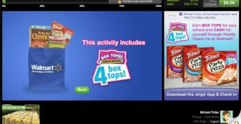 Earn Cash for You and Your School with Box Tops for Education and Jingit #jingit4edu