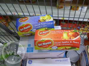 Del Monte in Shopping Cart