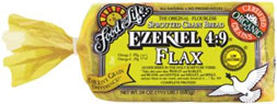 Ezekiel 4:9® Sprouted Flax Bread