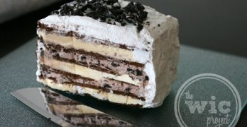 OREO Ice Cream Cake with Cool Whip Frosting #CoolWhipFrosting #CBias #SocialFabric