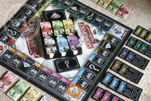 Monopoly Millionaire Game Set-Up