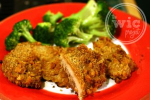 Stuffing-Coated Baked Chicken