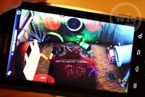 Web-slinger App Augmented Reality