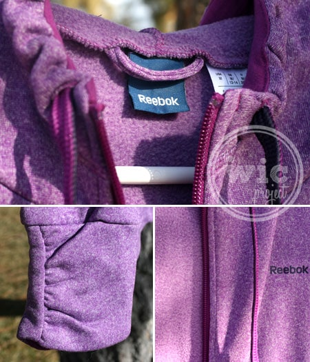 Reebok fitness Women's Heather Plush Jacket