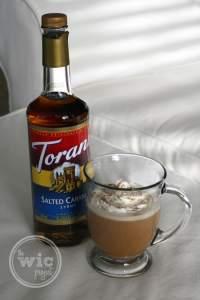 Salted Caramel Cream Coffee