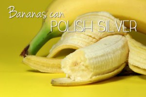 Bananas Can Polish Silver