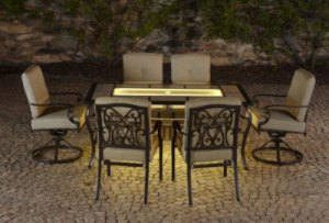 Bella Luna Dining Set Lighted Patio Set at Sears