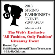 2013 Spring Fashionista Giveaway Event