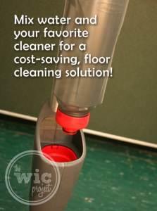 Rubbermaid Reveal Spray Mop Refillable Bottle