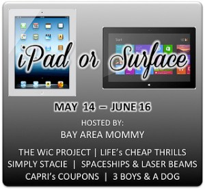 May iPad/Surface Giveaway