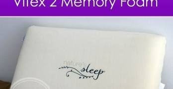 The Perfect Pillow – Nature's Sleep Vitex 2 Memory Foam Pillow #NSAmbassador