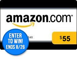 August $55 Amazon GC Giveaway