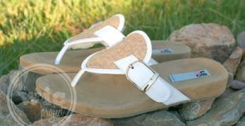 Stylin' With My LAMO Sheepskin Garden Party Sandals