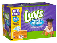 New Luvs with Super Absorbent Leakguard Diapers #TheClueIsInTheBlue