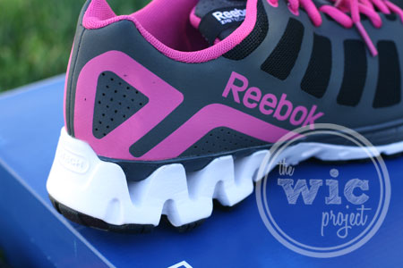 Running with Reebok Zig Kick Shoes from Famous Footwear