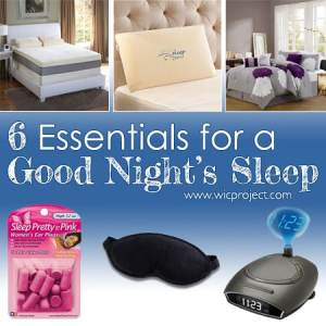 6 Essentials for a Good Night's Sleep