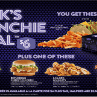 Late Night Snacks with Jack in the Box Munchie Meals