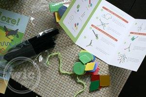 Kiwi Crate Hanging Mobile Instructions & Kit
