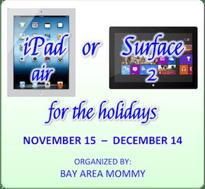 iPad Air Surface2 Giveaway