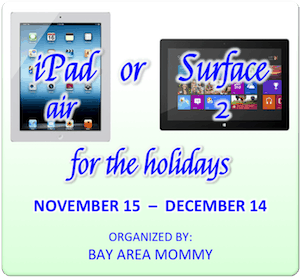 iPad Air Surface2 Giveaway