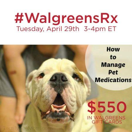 #WalgreensRX-Twitter-Party-4-29-3pmET