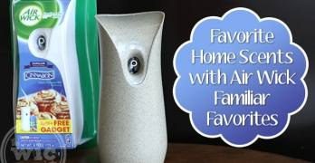 Favorite Home Scents with Air Wick Familiar Favorites