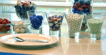 Celebrate the 4th with SweetWorks Patriotic Candy Decorations #SweetworksPatriotic