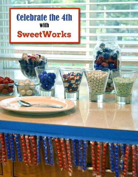 Celebrate the 4th with SweetWorks Candies