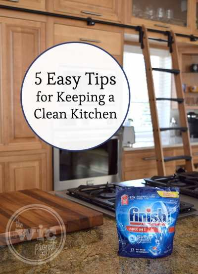 5 tips on how to keep the kitchen clean