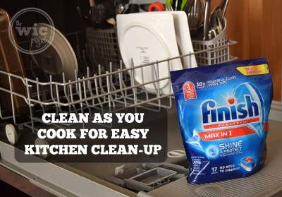 Clean as you cook