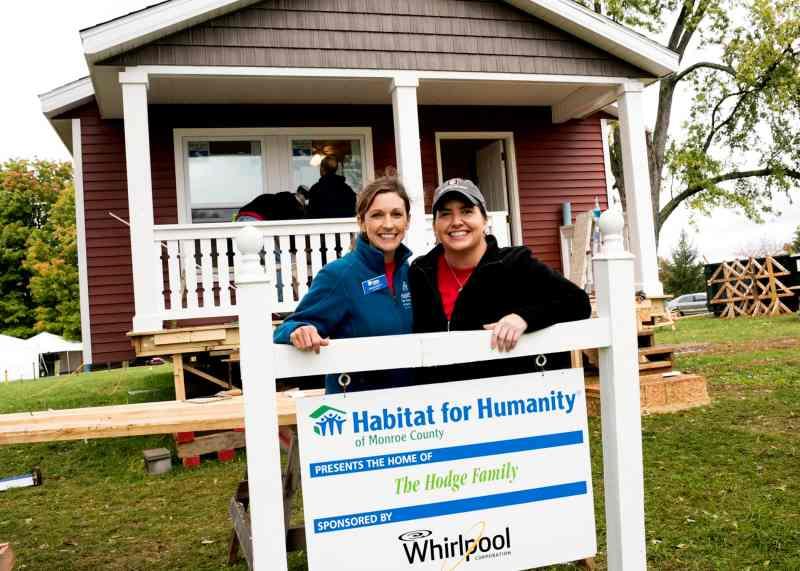 Whirlpool, Indiana University Habitat Build 10.03.2014