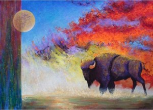 Montana's MarketPlace Earth and Sky Signed Numbered LImited Edition Lexi Sundell Giclee Print