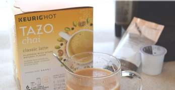 Relax at Home With Fresh Brewed TAZO® Chai Latte K-Cup® Pods